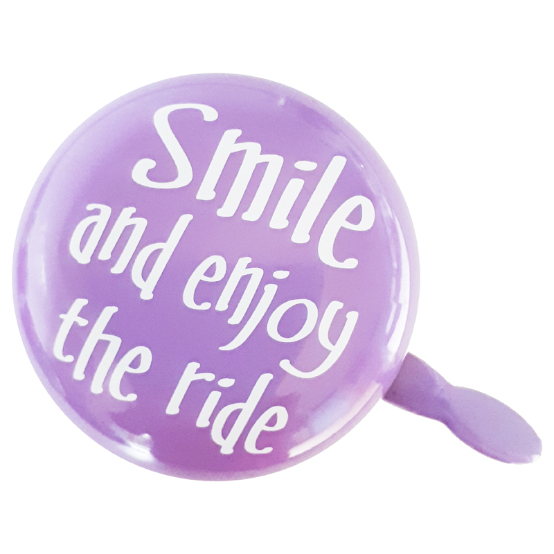 Smile and enjoy the ride